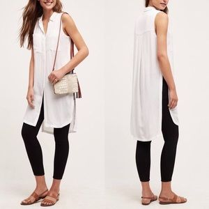 ANTHROPOLOGIE | HD in Paris White Gauze Tunic
